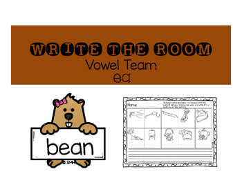 Vowel Team Activities (ea and oa)