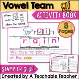 AI Vowel Team Activity Book