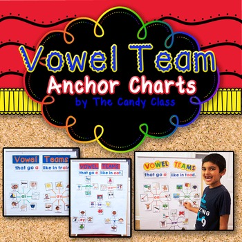 Vowel Team Anchor Charts (Long Vowel Pairs)