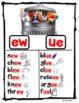 Vowel Team Posters: aw, ow, ou, ew, oy, oi, ee, ea, oo, ai, ay