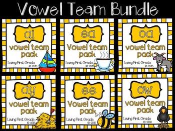 Vowel Team BUNDLE