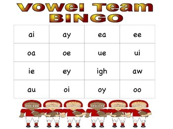 #christmasinjuly Vowel Team BUNDLE! 4 Sports Themed Activities!