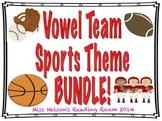 Vowel Team BUNDLE! 4 Sports Themed Activities!