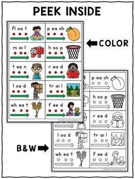 Vowel Team Blend Cards