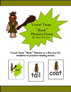 "Vowel Team ""Bonk"" Phonics Game"