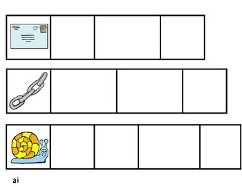 Vowel Team Word Building Cards