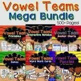 Vowel Teams Mega Bundle Word Work Activities, Games & More