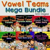 Vowel Teams Mega Bundle Word Work Activities, Games & More