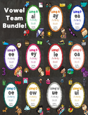 No Prep Vowel Team Huge Bundle - EA, EE, EY, AI, AY, EY, IE, OA, OE, OW, UE, UI