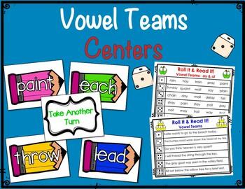 Vowel Team Centers & Activities