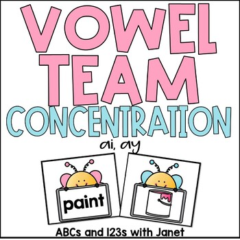 Vowel Team Concentration {ai, ay}