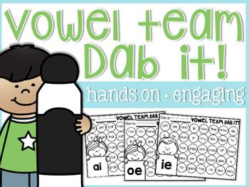 Vowel Team Dab It!