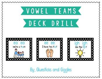 Vowel Team Deck Drill