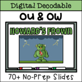 Vowel Team Digital Decodable Story with OU & OW