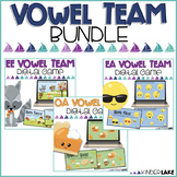 Vowel Teams Activity: Interactive Games Bundle