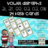 Vowel Team (Digraph) Task Cards- ai, ay, ee, ea, oa, & ow