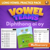 Vowel Team Diphthong OI OY Multisensory Word Work Pack