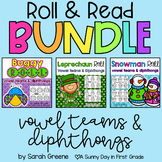 Vowel Team & Diphthong Roll & Read Bundle