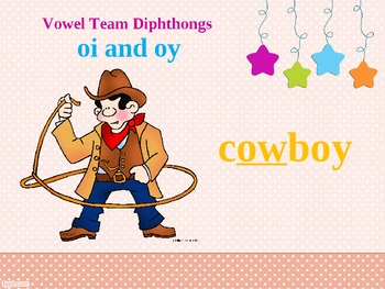 Vowel Team Diphthongs OI OY Spelling Power Point