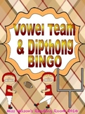 Vowel Team & Dipthong BINGO game!