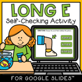 Vowel Team EE Digital Activity Google Classroom PPT Intera