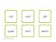 Vowel Team Fluency Flashcards - Long A, E, O