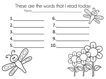 Read and Write the Room {Vowel Teams}