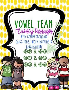 Vowel Team Fluency Passages