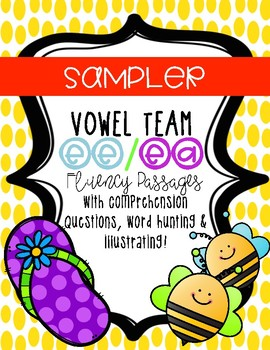 Vowel Team Fluency Passages *SAMPLER*