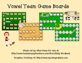 Vowel Team Game Boards
