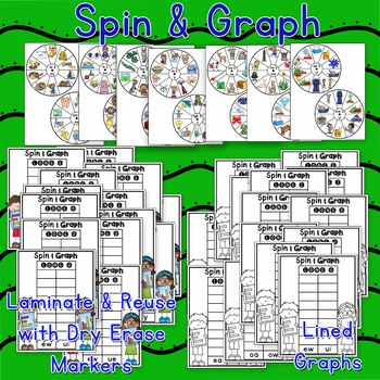 Vowel Team Games including Spin and Graph & More for Long Vowel Pairs