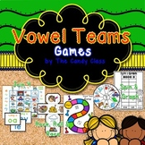 Vowel Team Games including Spin and Graph & More for Long
