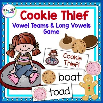 Vowel Team Game: Long Vowels (Cookie Thief)