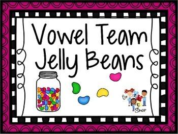Vowel Team Jelly Beans