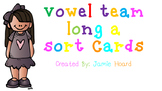 Vowel Team Long A Sort Cards
