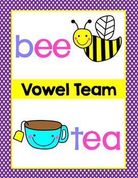 Vowel Team Long E Lesson