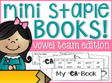 Vowel Team Mini Staple Books