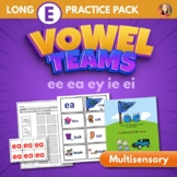 Vowel Team Multisensory Word Work Packet for Long E