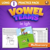 Vowel Team Multisensory Word Work Packet for Long I