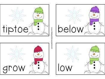 Vowel Team: OW, OA & OE