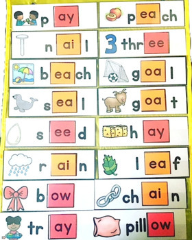 Vowel Teams: ea, oa, ai, ow, ee, ay