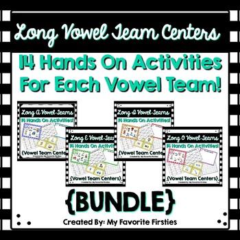 Vowel Team Centers BUNDLE!