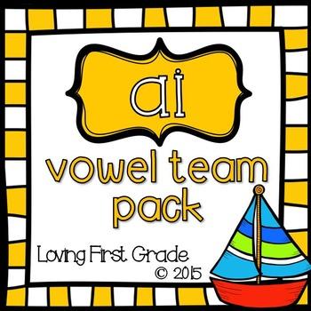 Vowel Teams Pack: ai
