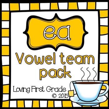 Vowel Teams Pack: ea