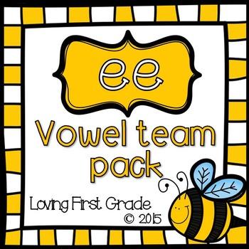 Vowel Teams Pack: ee