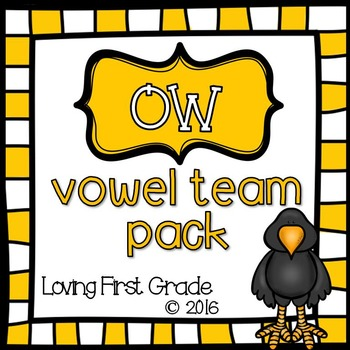 Vowel Team Pack: ow