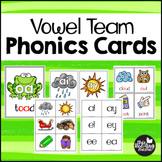 Vowel Team Phonics Cards