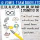 Vowel Teams: Minibooks {ee, ea, ai, ay, oa, ow, igh, oo, ew}