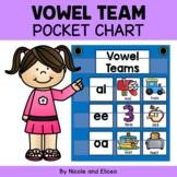 Phonics Pocket Chart - Vowel Team Word Work
