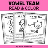 Vowel Team Phonics Stories Coloring Sheets